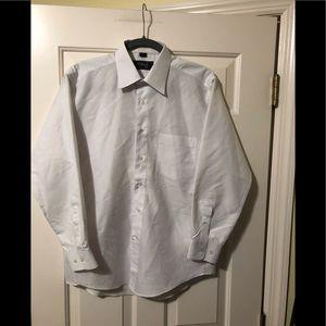 "Versace classic V2 white dress shirt M 15.5"""